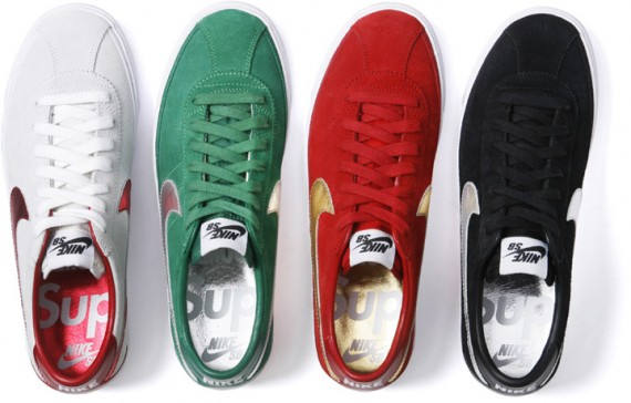 "Supreme x Nike SB Bruin ""World Famous"" Pack"