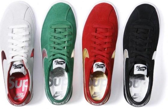 "Supreme x Nike SB Bruin ""World Famous"" Pack"
