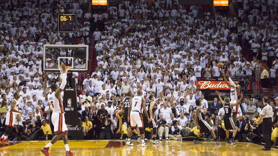 Ray Allen Game 6 Clutch Shot