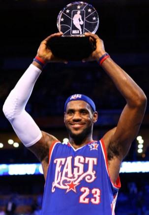 2008 ASG MVP- LeBron James