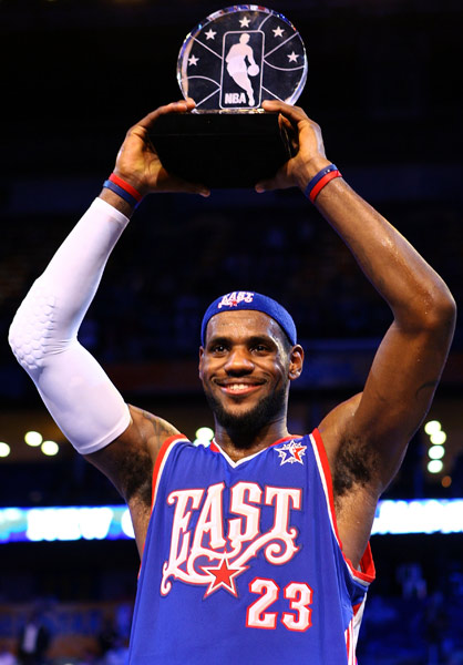 2008 ASG MVP- LeBron James
