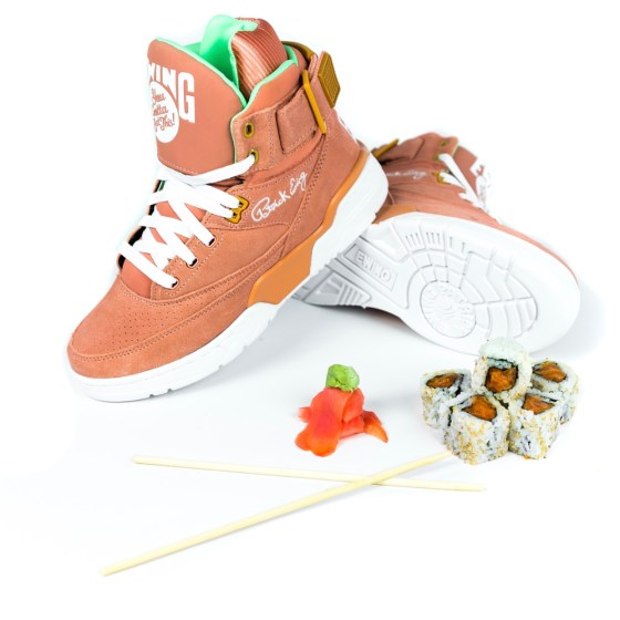 Ewing 33 Hi x Bun B + Premium Pete Sushi Sneakers