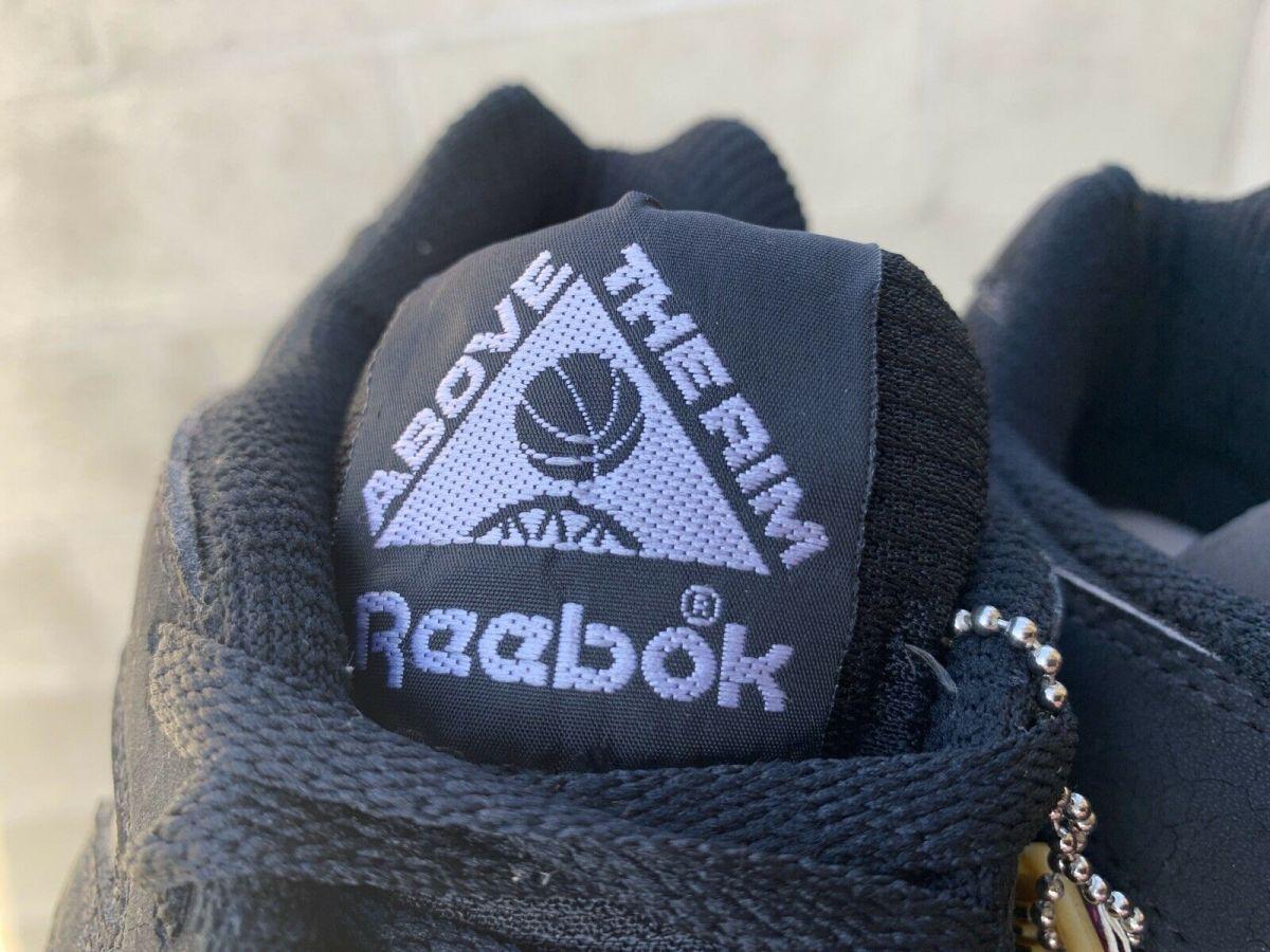 Reebok Above The Rim Tongue Logo