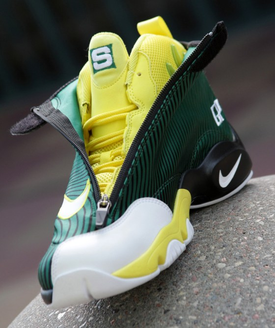Gary Payton - Nike x Sole Collector The Glove 'Sonics' (Best Seattle Sonics Sneakers)