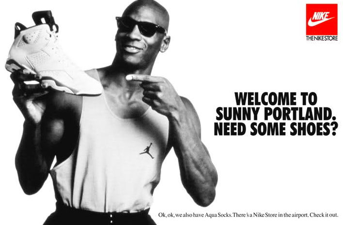 Jordan 6 Welcome to Sunny Portland Poster