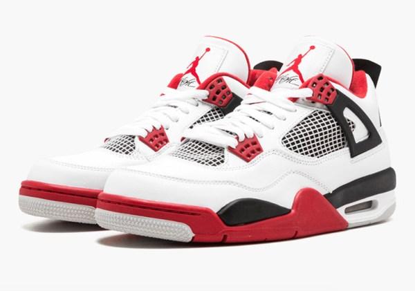 AIr Jordan 4 2019 Fire Red