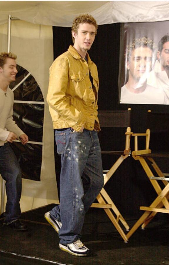 Justin Timberlake sneakers - Air Max 98