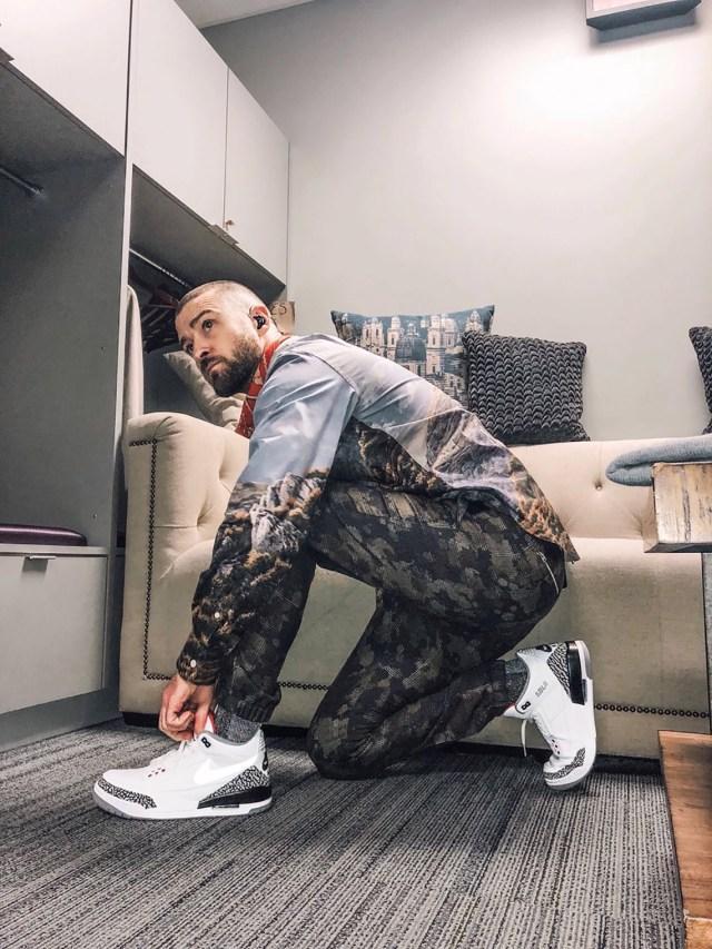 Justin Timberlake sneakers - Air Jordan 3
