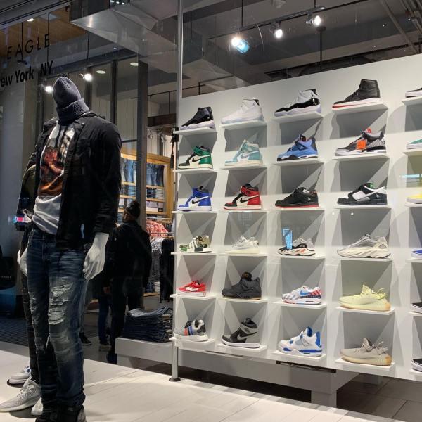 American Eagle Selling Sneakers in Manhattan (Urban Necessities)