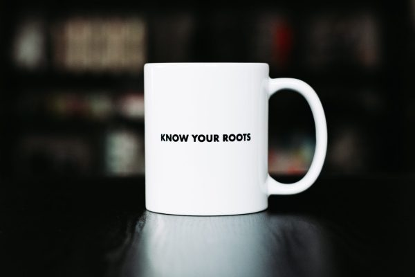 Know Your Roots Sneaker History Coffee Mug
