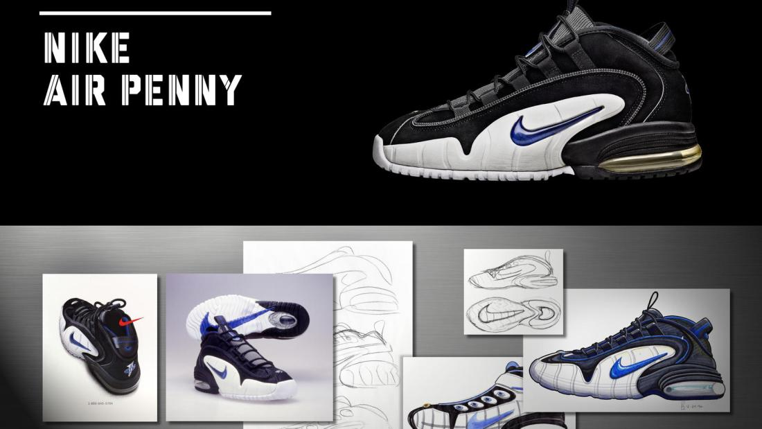 breakdown of the Nike Air Penny 1