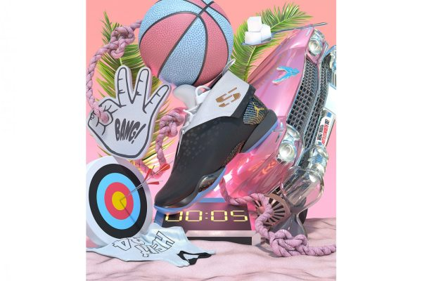 Promo Image for Ray Allen's Air Jordan XX8 'Locked and Loaded'