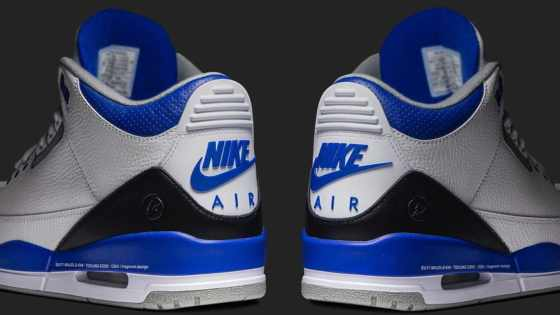 fragment design x Air Jordan 3