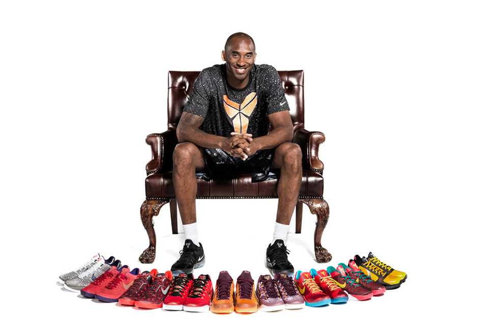 The Best Kobe Bryant Signature Sneakers Sneaker History