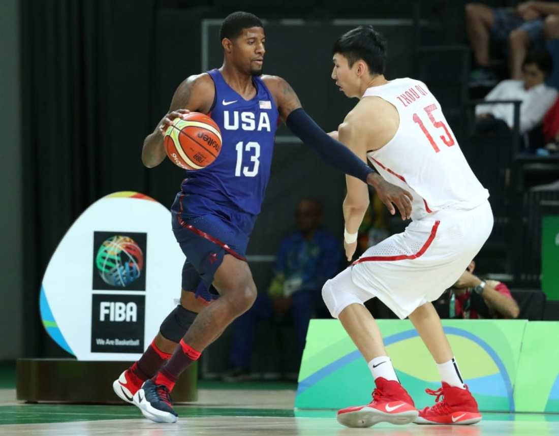 Paul George for Team USA