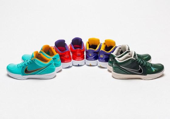 Kobe Signature Sneakers: Nike Kobe 4 Protro Undefeated