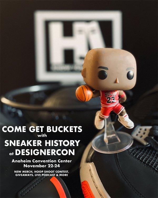 Sneaker History at DesignerCon
