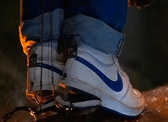The Goonies - Data 'Slick Shoes' - Nike Sky Force Hi