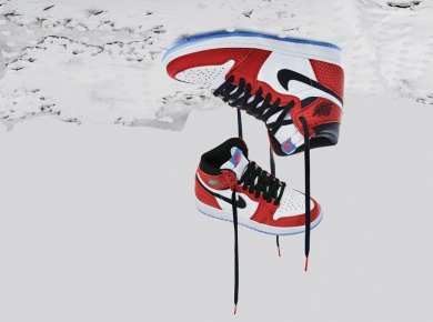 Sneaker And Comics Unite In the Collaboration Between Jordan Brand and Spider-Man: Into The Spider-Verse.
