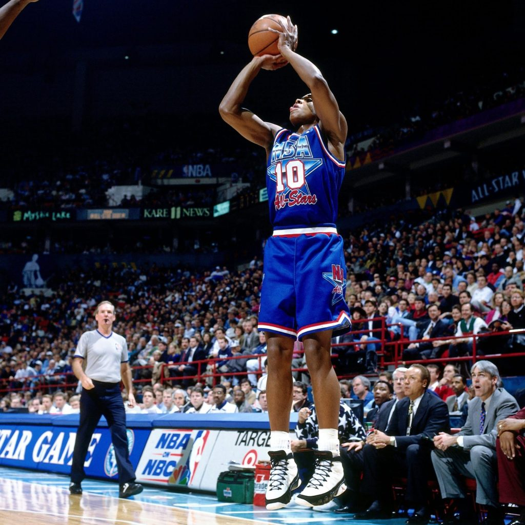 B.J. Armstrong Air Jordan 9 All-Star Game 1994