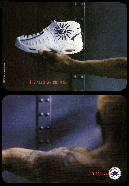 Converse All-Star Rodman Ad