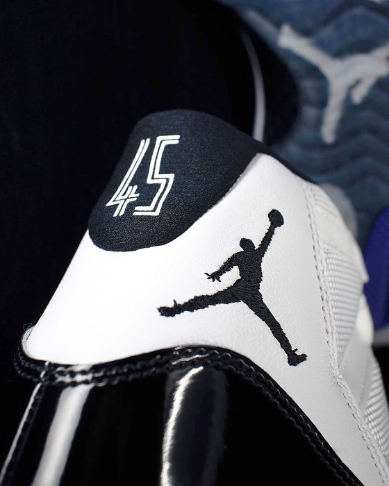Air Jordan 11 Concords Detailed Photos