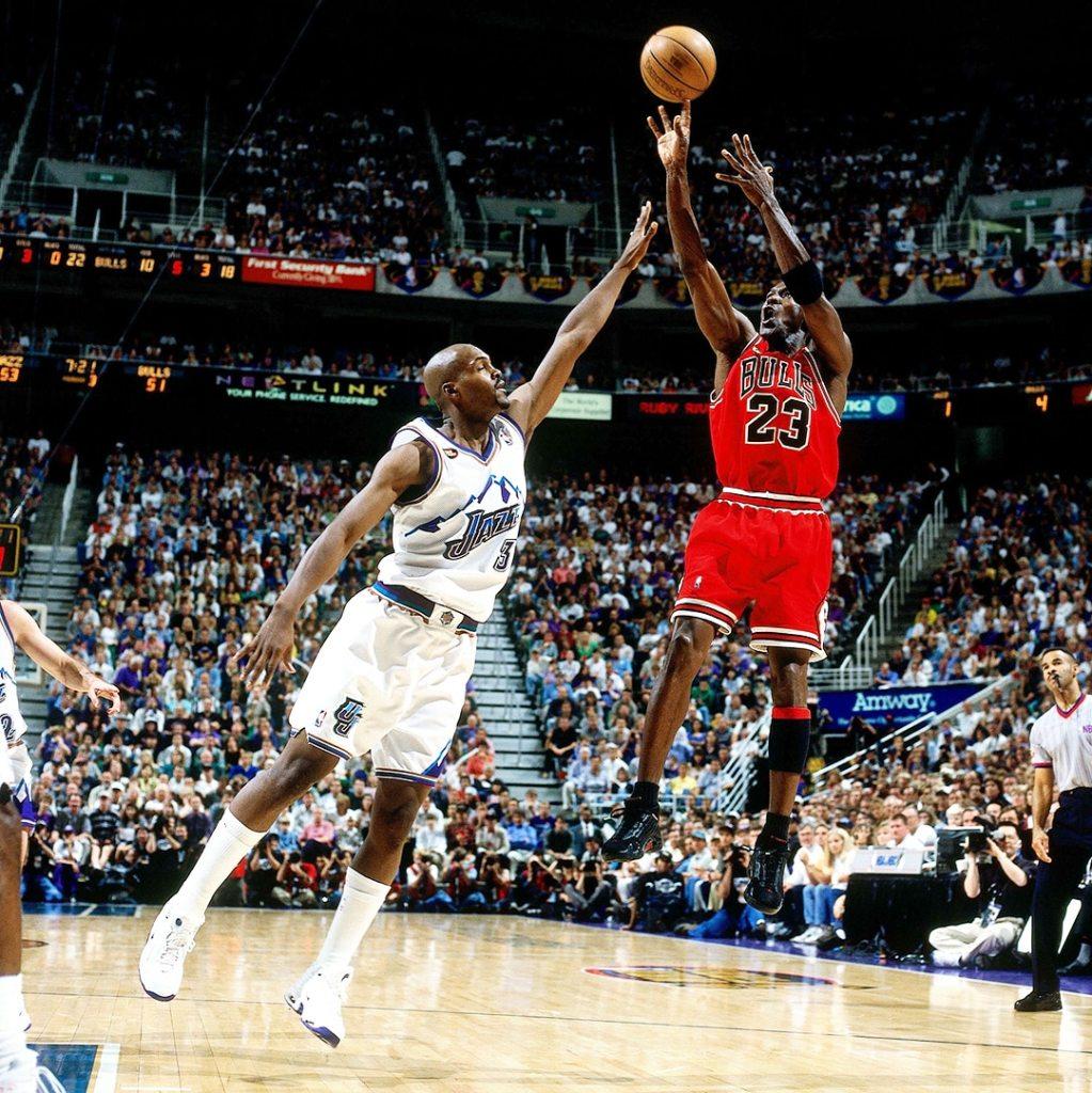 Michael Jordan Last Shot