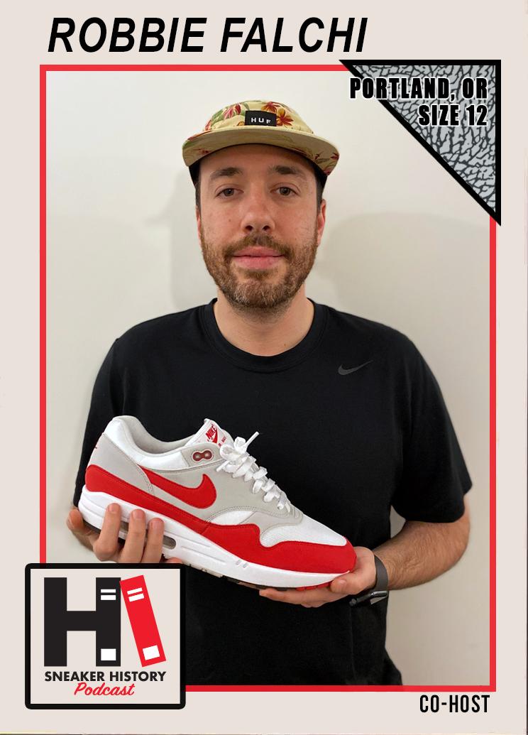 Robbie Falchi, Sneaker History Podcast