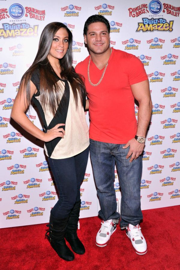 Ronnie From Jersey Shore (that's still a thing?) in the Air Jordan 4 Fire Red