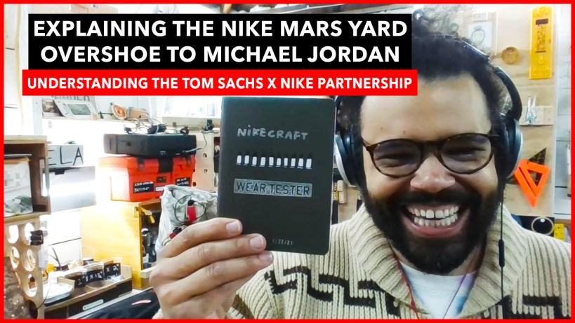 Explaining The Mars yard Overshoe to Michael Jordan - Aaron Hankins Interview