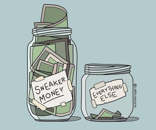Sneaker Money by @larolagosta