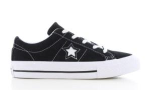 Converse One Star Ox Zwart Kinderen