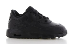 Nike Air Max 90 Leather Zwart Peuters