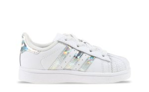adidas Superstar Wit/Holographic Peuters