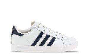adidas Coast Star Wit/Blauw Kinderen