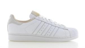 adidas Superstar Wit/Beige Heren
