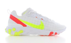 Nike React Element 55 Wit Heren