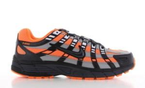 Nike Nike P-6000 Zwart/Oranje Heren