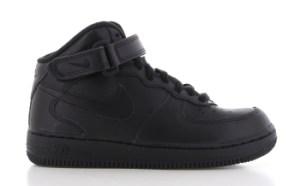 Nike Air Force 1 Mid Zwart Kinderen