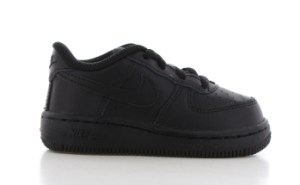Nike Air Force 1 Zwart Peuters