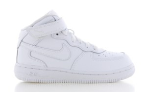 Nike Air Force 1 Mid Wit Peuters