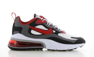 Nike Air Max 270 React Wit/Zwart/Rood Heren