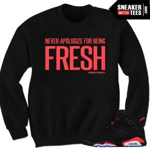 buy online bd532 8a4c4 ... Jordan 9 Space Jam Shirt - King - White  Infrared 6 sweatshirt to match  ...