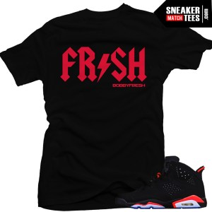 42e0e44e5fb4 Shirts T shirt Match Jordan 13 Chicago Streetwear Clothing Sneaker tees to  match the Jordan Retro 6 infrared Infrared ...