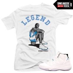 Legend Blue 11 matching shirts sneaker tees clothing