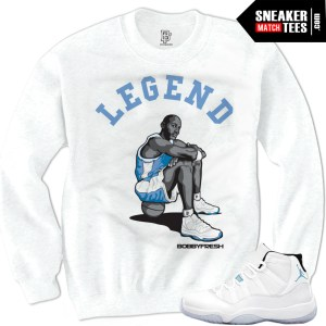 Legend Blue 11 shirts to match Columbia 11s jordans shirt that match Legend Blue 11