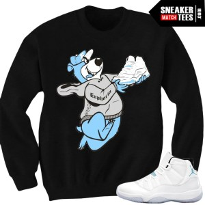 Legend Blue 11 matching sneaker tees shirts match jordan retro Legend Blue 11s