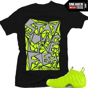 new concept da60e 7f57e ... Share Shirts that match Foamposite Volt. Volt Foams .