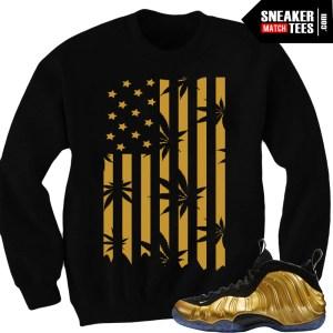 Gold-foamposite-outfits-matching-sneaker-tees-shirts-online-shopping-streetwear-karmaloop