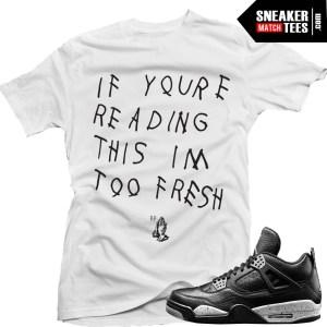 Jordan 4 Oreo shirts matching Oreo 4s sneaker tees shirts